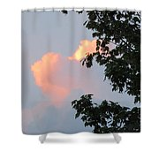 Cloud And Blue Sky Shower Curtain