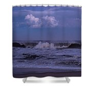 Cloud And Wave Seaside New Jersey Shower Curtain