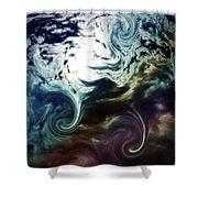 Cloud Art Shower Curtain