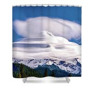 Cloud Cap Shower Curtain