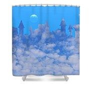 Cloud Castle Shower Curtain