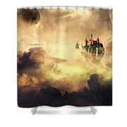 Cloud Castle Shower Curtain