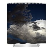 Cloud Collide Shower Curtain
