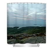 Cloud Covered Sunrise Shower Curtain