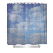 Cloud Curtain Shower Curtain