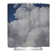 Cloud Depth I Shower Curtain