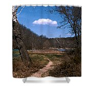 Cloud Destination Shower Curtain