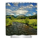 Cloud Explosion Shower Curtain