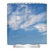 Cloud Faces Shower Curtain