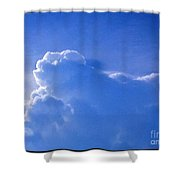 Cloud Figures Shower Curtain