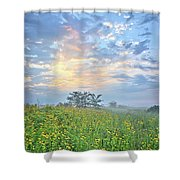 Cloud Filled Morning 2 Shower Curtain