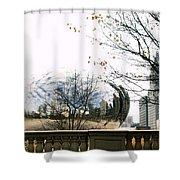Cloud Gate - 1 Shower Curtain
