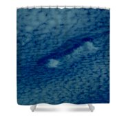 Cloud Interrupted Shower Curtain