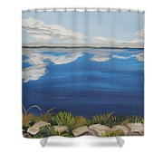 Cloud Lake Shower Curtain