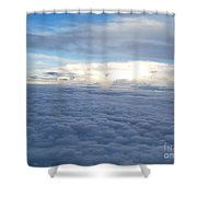 Cloud Landscape Shower Curtain