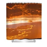 Cloud Light Shower Curtain