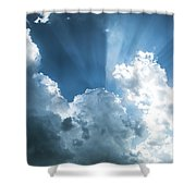 Cloud Light  Shower Curtain