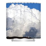 Cloud Nine 10 Shower Curtain