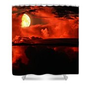 Cloud Rider  Shower Curtain