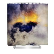Cloud Sculping Shower Curtain