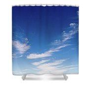 Cloud Sculpting Shower Curtain