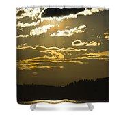 Cloud Shadows Shower Curtain