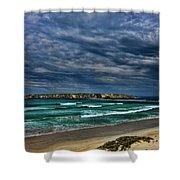 Cloud Spectacular Shower Curtain