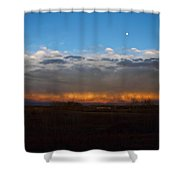Cloud Spectrum Shower Curtain