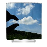 Cloud Squeeze Shower Curtain
