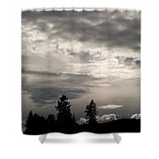 Cloud Study 1 Shower Curtain
