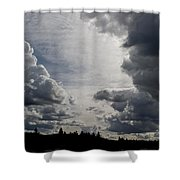 Cloud Study 2 Shower Curtain