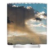 Cloud Tail Shower Curtain