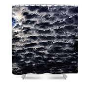 Cloud Tiles Shower Curtain