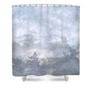 Cloud Walk Forest Shower Curtain