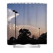 Cloud Wars Shower Curtain