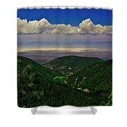 Cloudcroft Canyon View Shower Curtain