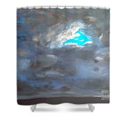 Cloudhole Shower Curtain