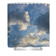 Clouds 03.26.2017 7061t Shower Curtain