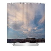 Clouds 0505 Shower Curtain