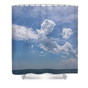 Clouds 2017-1 Shower Curtain