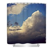 Clouds-3 Shower Curtain