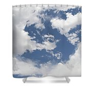 Clouds 31 Shower Curtain