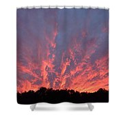 Clouds 55 Shower Curtain