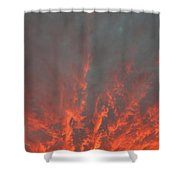 Clouds 57 Shower Curtain