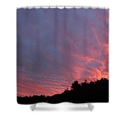 Clouds 58 Shower Curtain