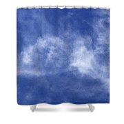 Clouds 6 Shower Curtain