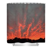 Clouds 63 Shower Curtain