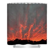 Clouds 64 Shower Curtain