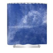 Clouds 7 Shower Curtain