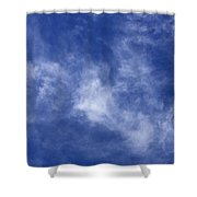 Clouds 9 Shower Curtain